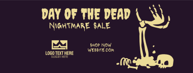 Day Of The Dead Sale Facebook cover