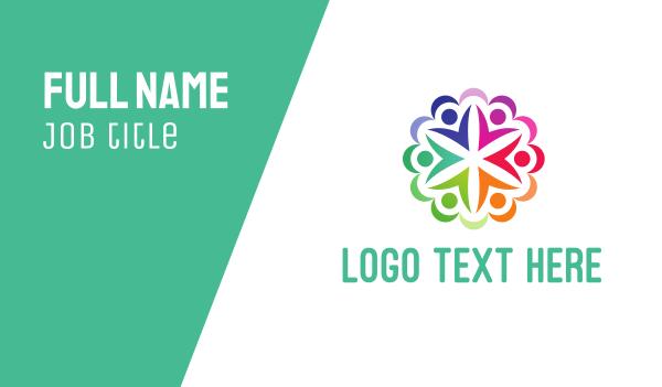 contest - Circle People Business card horizontal design