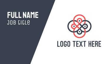 Loop Flower Business Card