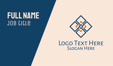 Simple Moroccan Pattern  Business Card