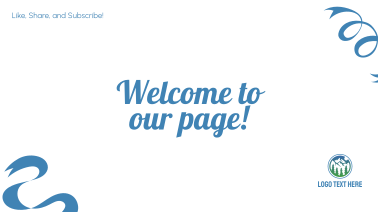 Welcome Ribbons Facebook event cover