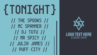 Tonight DJ Music Facebook event cover
