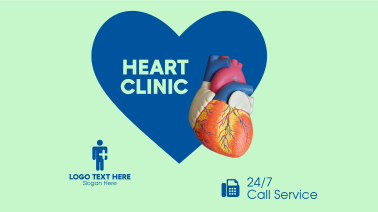 Heart Clinic Facebook event cover