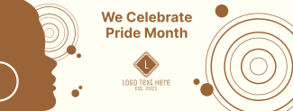 We Celebrate Pride Month Facebook cover