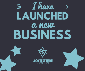 Launched Business Facebook post