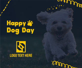Happy Dog Day Facebook post