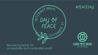 Day Of Peace Badge Facebook event cover