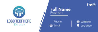 Two-Tone  Email Signature