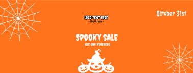Halloween Spooky Sale  Facebook cover