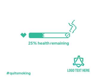 Health Bar Smoking Facebook post