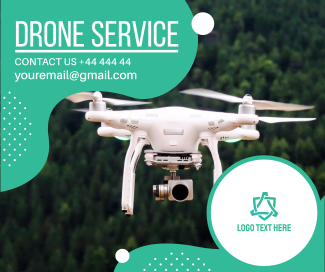 Drone Service Facebook post