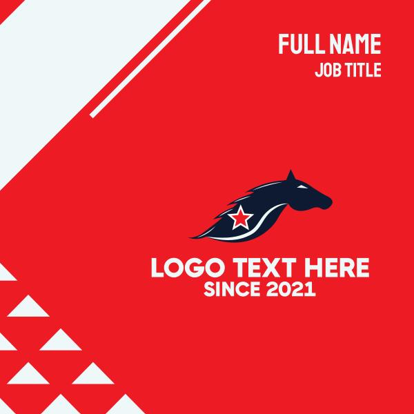 Star Horse Business Card