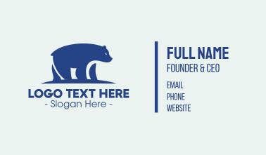 Arctic Polar Bear Business Card