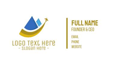 Pyramid Travel Business Card