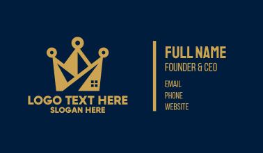Golden Crown Building Business Card