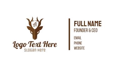 Guard Deer Business Card