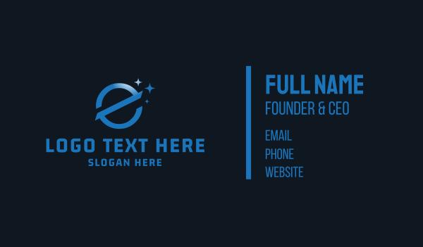 stargazing - E Planet Business card horizontal design