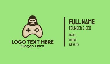 Gorilla Game Control Business Card