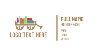 Book Cart Business Card