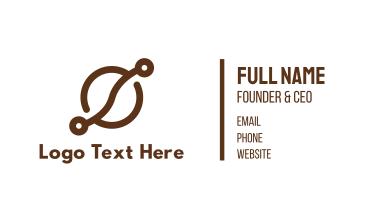 Coffee Bean Tech Business Card
