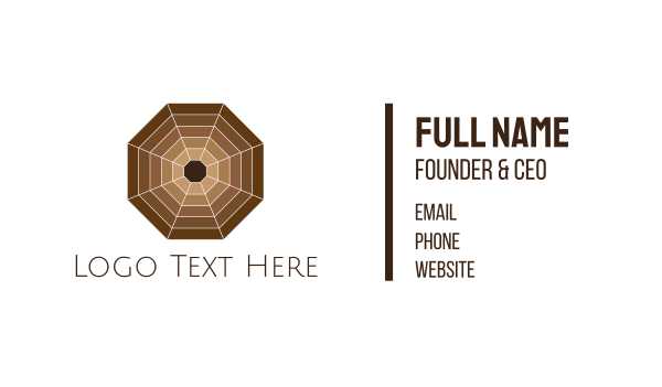 choco - choco web Business card horizontal design