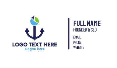 Anchor Chart Business Card