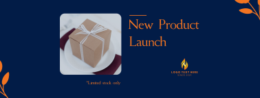 New Product Launch Facebook cover