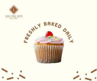 Pink Cupcake Facebook post