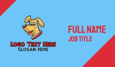 Dog Pup Pet Business Card