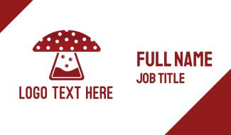 Mushroom Laboratory Business Card