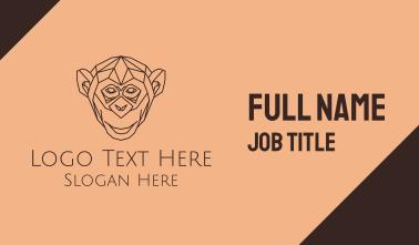 Monkey Monoline Business Card