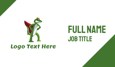 Super Gecko Business Card