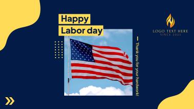 Labor Day Celebration Facebook event cover