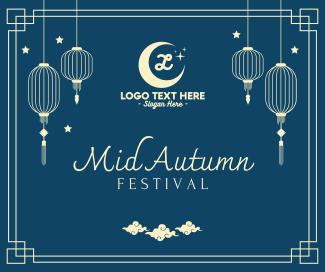 Mid Autumn Festival Lanterns Facebook post
