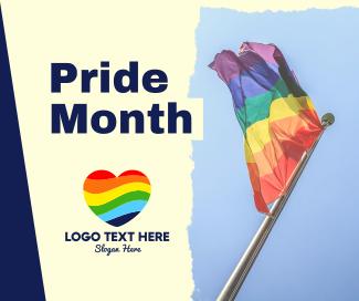 Pride Month 2021 Facebook post