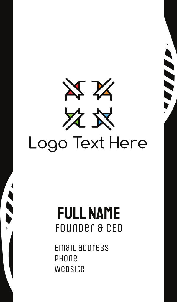 Elegant Cross Business Card
