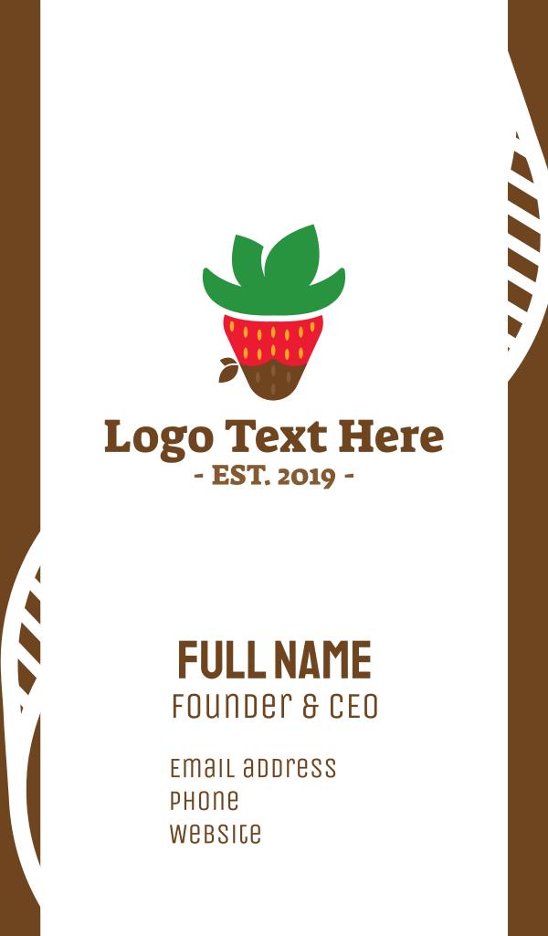 Strawberry Cowboy Business Card