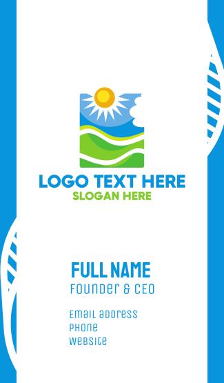 Sun & Field Business Card