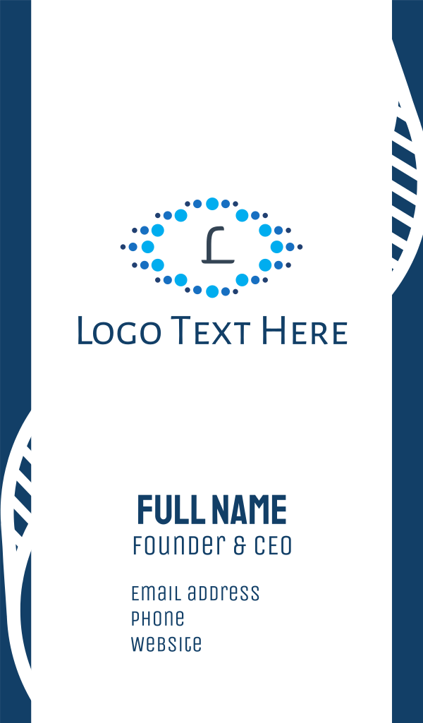 Water Emblem Business Card