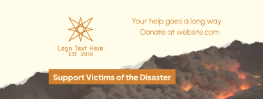 Fire Victims Donation Facebook cover