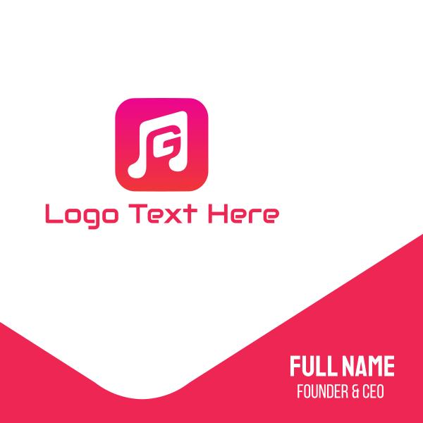 Music G App Business Card