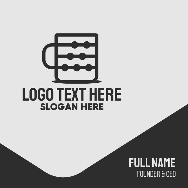 Coffee Tech Cup Business Card