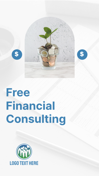 Financial Consulting Facebook story