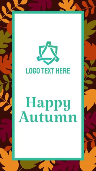 Autumn Season Facebook story