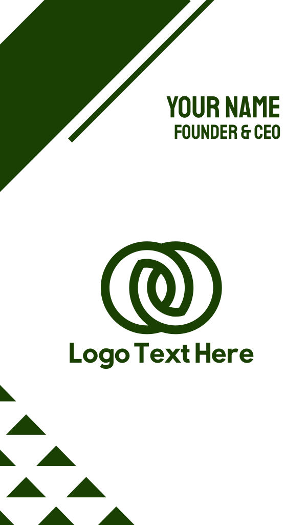 Linked Circles Business Card