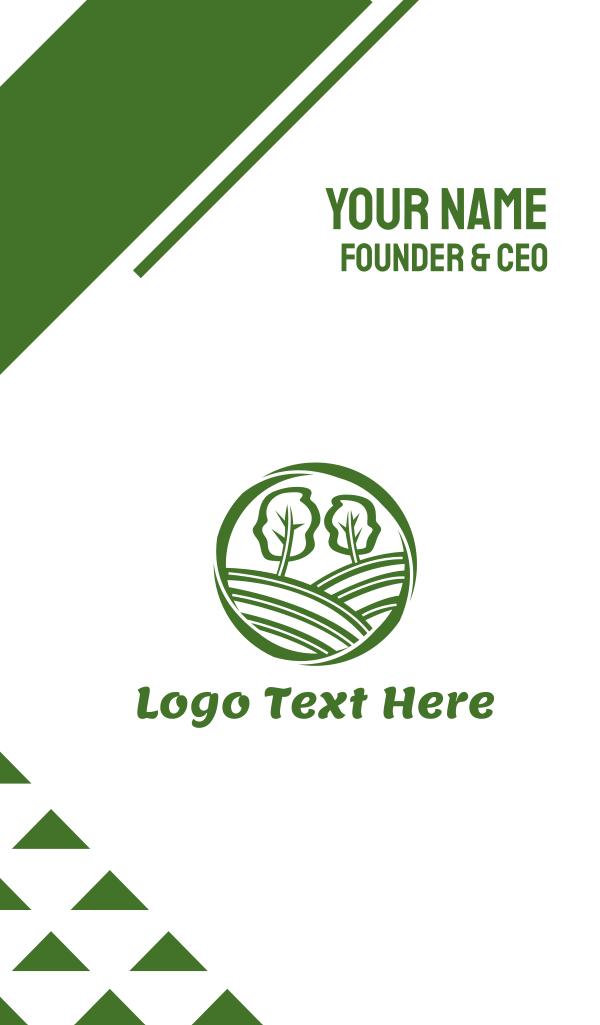 Green Tree Hills Business Card
