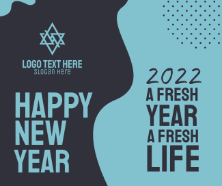 Happy New Year Facebook post