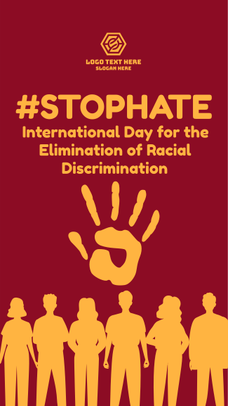 International Day for the Elimination of Racial Discrimination Facebook story
