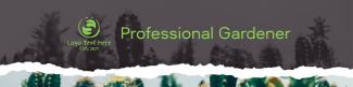 Professional Gardener LinkedIn banner
