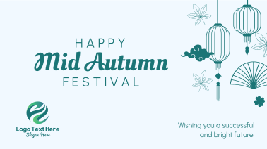 Happy Mid Autumn Festival Facebook event cover